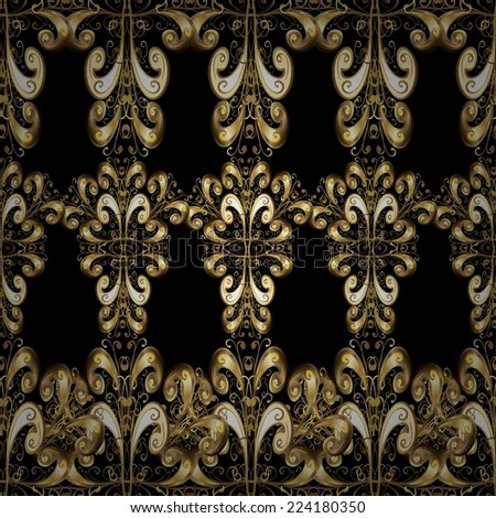 Seamless texture on black background. Vector illustration. Seamless pattern for your design wallpapers, pattern fills, web page backgrounds, surface textures.