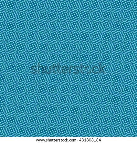 Seamless texture pattern with small blue rugged tiles - stock vector