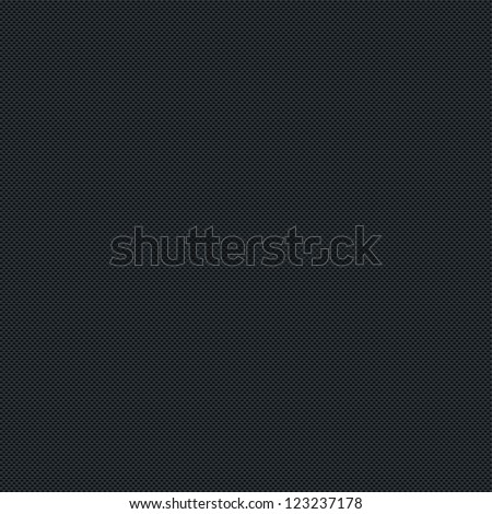 Seamless texture subtle pattern carbon fiber surface dark black background. Contemporary swatch simple modern style. Vector illustration web internet design elements in 8 eps - stock vector