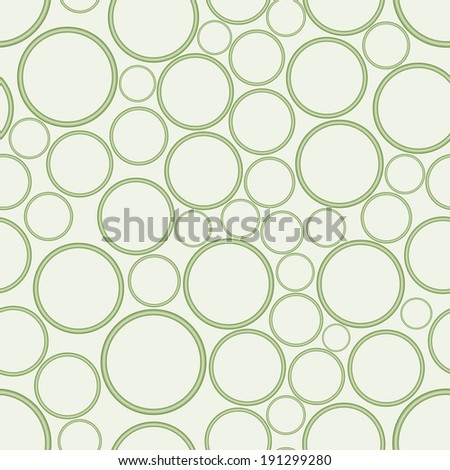 Seamless texture with lots of circles. - stock vector