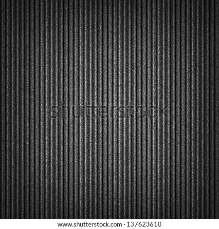 Seamless texture with noise grainy effect and vertical lines for background. Dark gray template square format size. This vector illustration clip-art design element save in 10 eps - stock vector