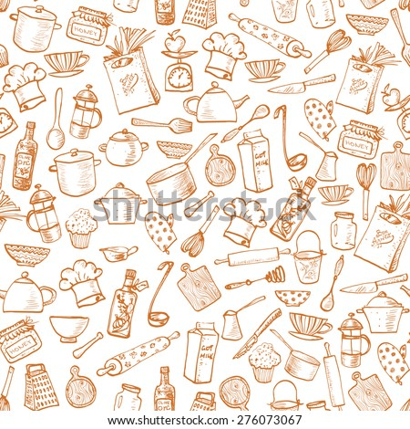 Kitchen Utensils Wallpaper kitchen wallpaper stock images, royalty-free images & vectors