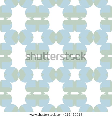 Seamless texture with symmetrical geometrical elements. Abstract background for design and print. Multicolored tiles with abstract ornaments. - stock vector