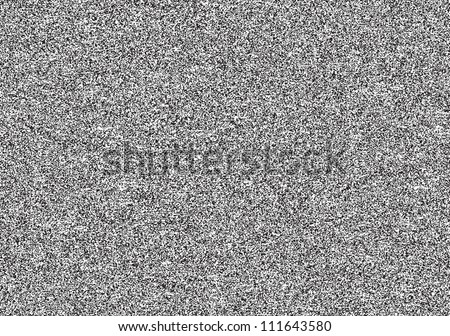 Seamless texture with television grainy noise effect for background. TV screen no signal. Horizontal template rectangle a4 format. This vector illustration clip-art design element saved in 8 eps - stock vector