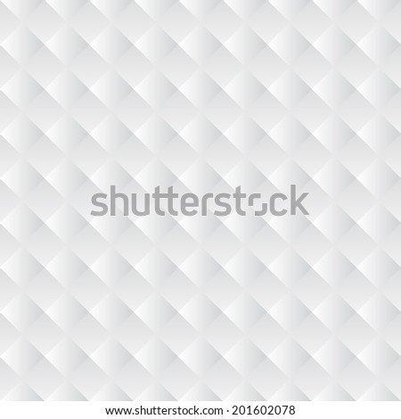 Seamless textured white background pattern - stock vector