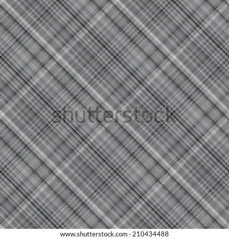 Seamless thin lined plaid pattern. A lot of shades. - stock vector