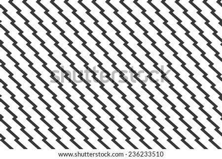 Seamless unusual zig zag pattern vector