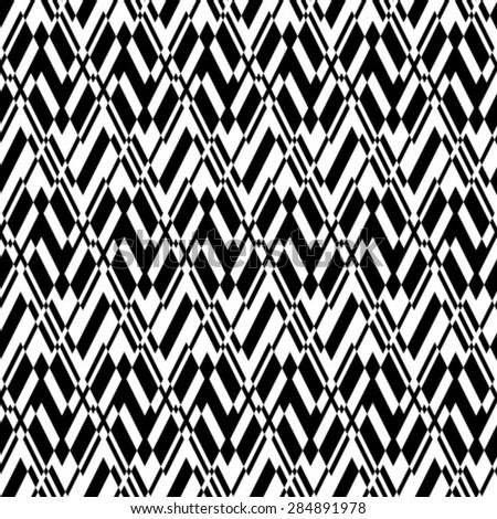 Seamless vector background. The geometric pattern. - stock vector
