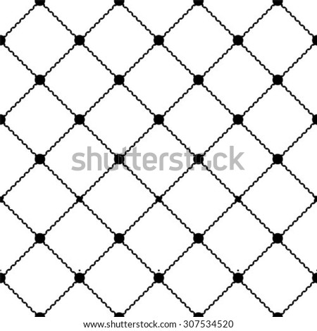 Seamless vector background. The geometric pattern by stripes, lines, rhombuses.