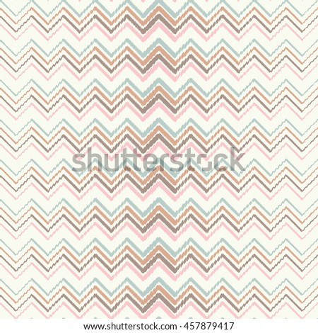 Seamless vector background with decorative zigzag. Print. Repeating background. Cloth design, wallpaper.