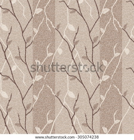 Seamless vector  brown and beige  hand drawing  pattern, pattern can be used for wallpaper, pattern fills, surface textures  - stock vector
