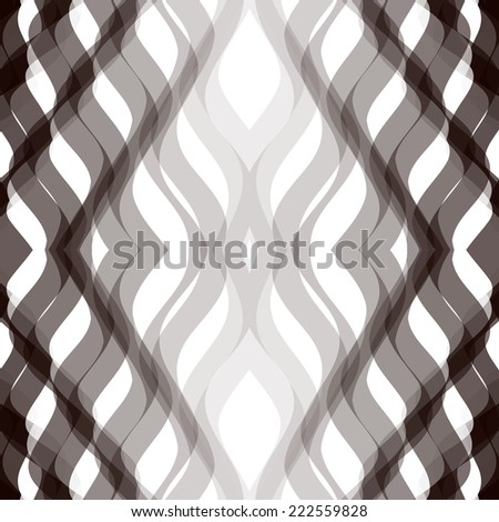 Seamless vector damask pattern  - stock vector