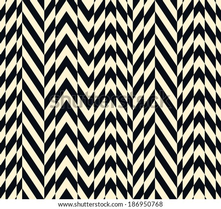 Seamless vector ethnic striped pattern background - stock vector