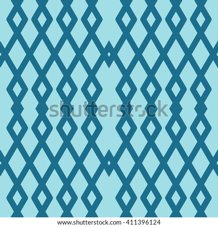 Seamless vector geometric rhombus color pattern background.