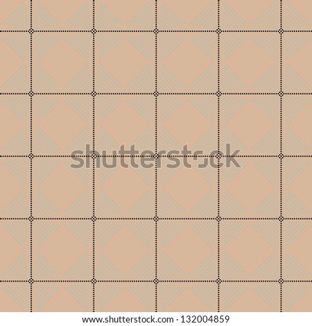 Seamless vector geometric texture pattern with circle background