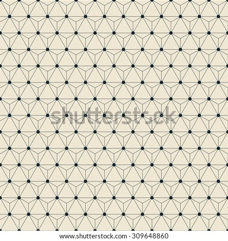 seamless vector grid pattern of triangles.