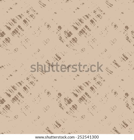 Seamless vector grunge texture traced scratched surface - stock vector