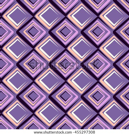 seamless vector illustration background of abstract shapes
