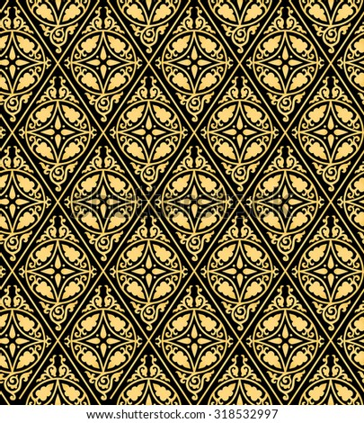 seamless vector ornament background