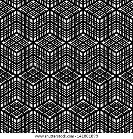 Seamless vector pattern. - stock vector