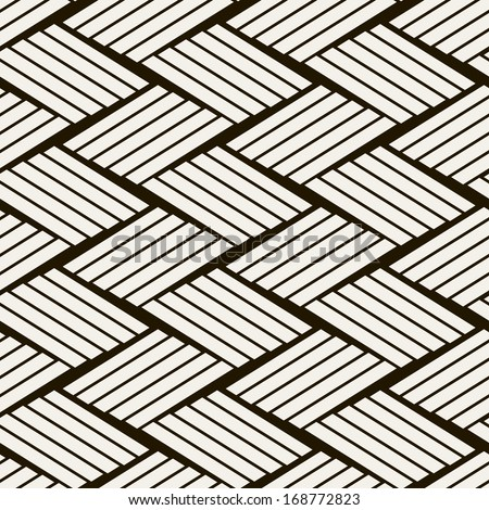 Seamless vector pattern. Abstract geometric background. Rhythmic structure