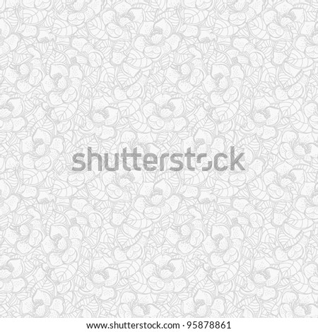 Seamless vector pattern, Wallpaper, Vector Wedding Background - stock vector