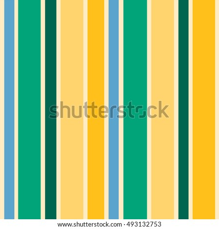 Seamless vector pattern with color lines (blue, green, yellow)