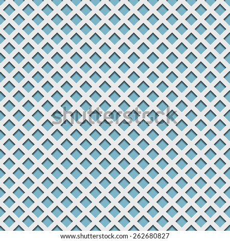 Seamless vector Pattern with Geometric Paper Elements