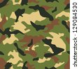 Seamless vector square camouflage series in the military scheme - stock vector