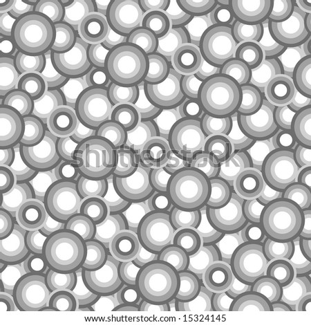 Seamless vector texture with grey balls
