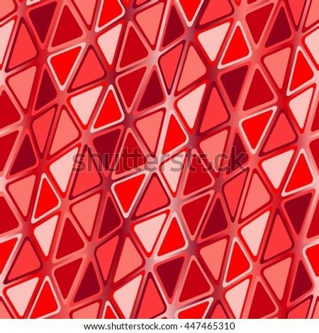 Seamless vector texture with red garnet tiles - stock vector