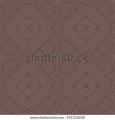 seamless vintage geometric wallpaper abstract pattern background. Vector illustration  - stock vector