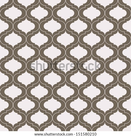 Seamless vintage pattern. Vector background. - stock vector