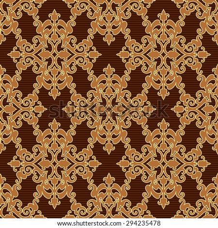 Seamless wallpaper pattern in vintage style