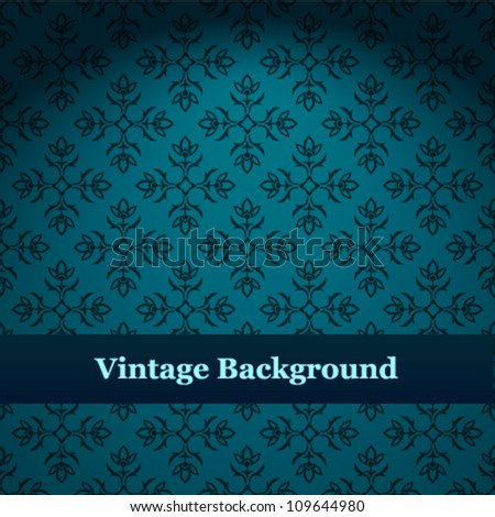 Seamless wallpaper pattern.vector background. - stock vector