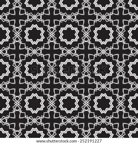 Seamless wallpaper pattern. Vector illustration. Decorative pattern