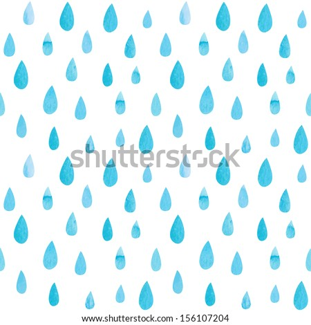 Cartoon Raindrops Falling Raindrop stock photos