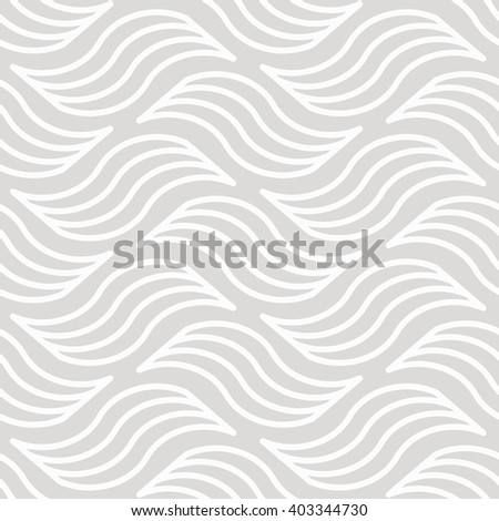 Seamless Wave Background - stock vector