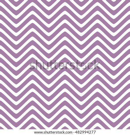 Seamless wavy lines pattern with white background