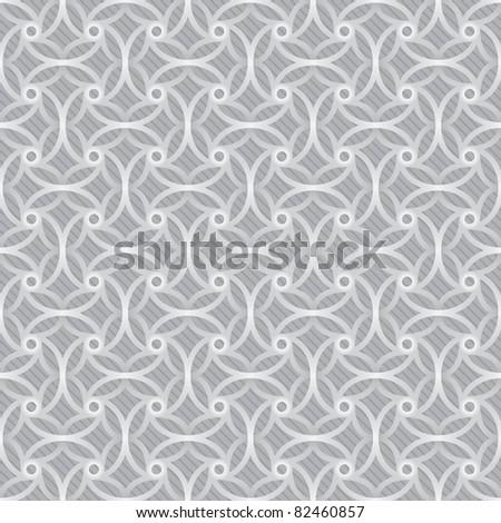 seamless white background for web design or presentation - stock vector