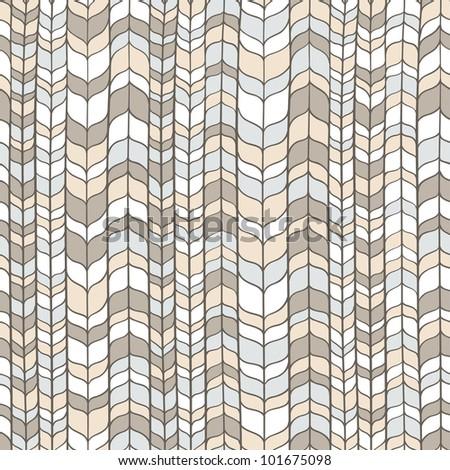 Seamless wicker light pattern. Vector illustration - stock vector