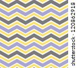 Seamless wide chevron background pattern - stock vector