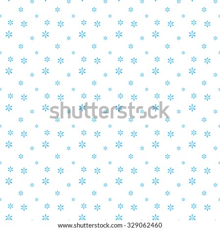 Seamless winter of blue fishnet star on a white background. Abstract background. - stock vector