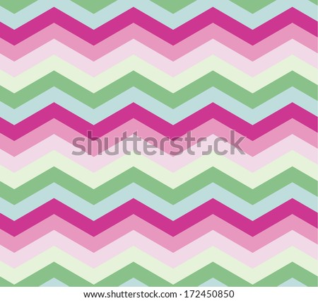 Seamless zigzag pattern, vector  - stock vector