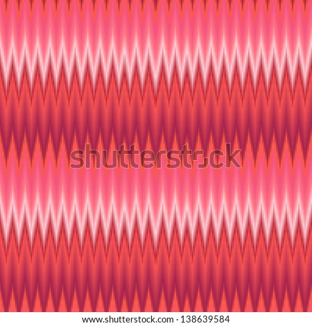 Seamless zigzags geometric pattern  Wallpaper Background - stock vector