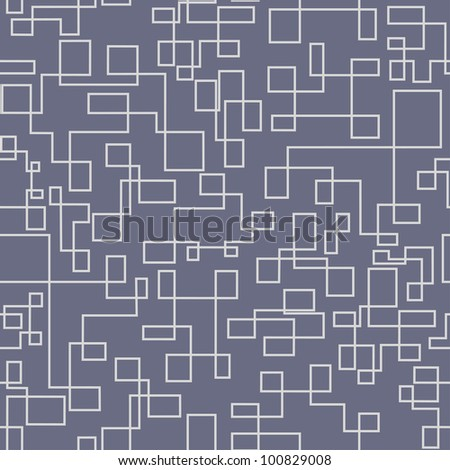 Seamlessly tubing background - vector pattern for continuous replicate. - stock vector