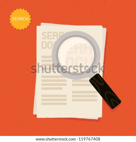 Search - stock vector
