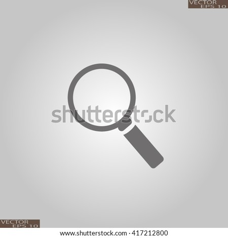 Search icon. Find icon. Search icon vector, search icon illustration, search icon flat, search icon, search web icon, search icon art, search icon drawing, search icon, - stock vector