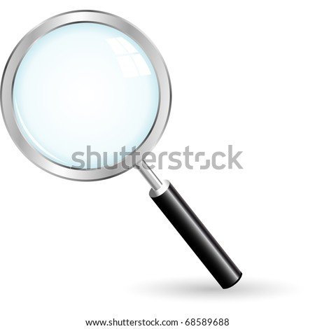 Search icon. Vector illustration. - stock vector