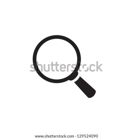 Search Icon Vector Set - stock vector